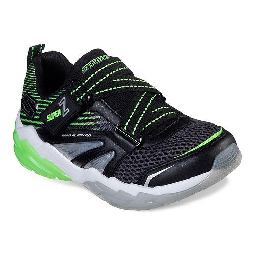 Skechers S Lights Rapid Flash 2.0 Boys' Light Up Shoes
