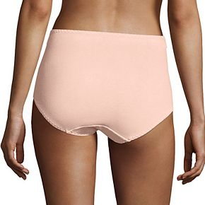 Bali 3-Pack Double Support Stretch Cotton Brief Panty DFDCB3