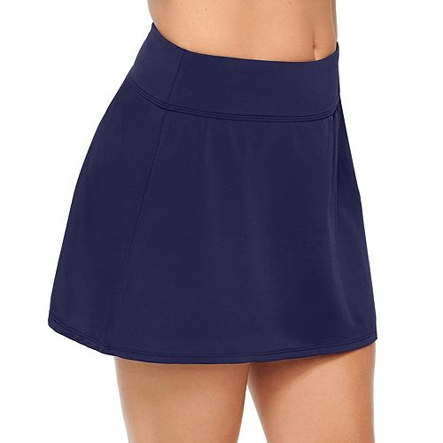 Women's Croft & Barrow® Extra Length Swim Skirt