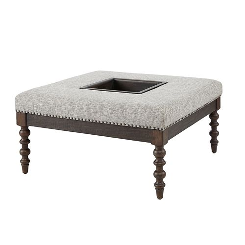 Madison Park Vivi Cocktail Ottoman