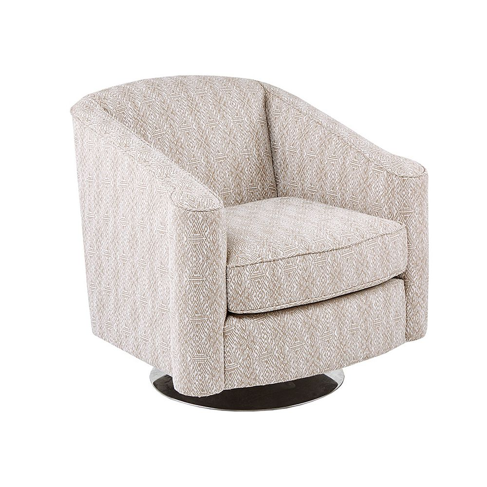 Madison Park Caroline Swivel Chair
