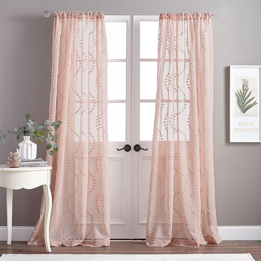 Dixon Wave Pole Top Curtain Panels