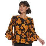 Women's Apt. 9® Ruffled Kimono Sleeve Top