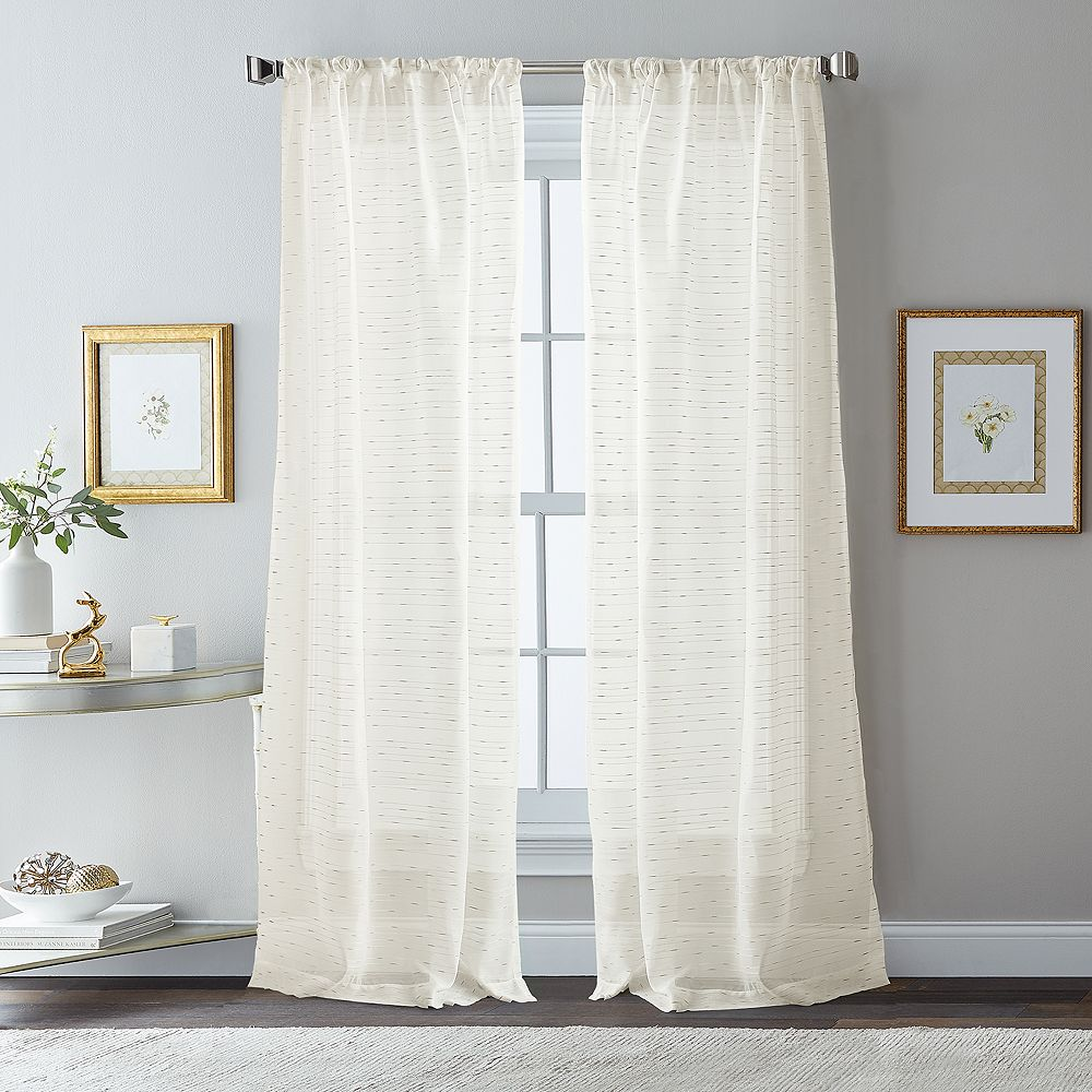 "CHF Hailey 84"" Poletop Window Curtain"