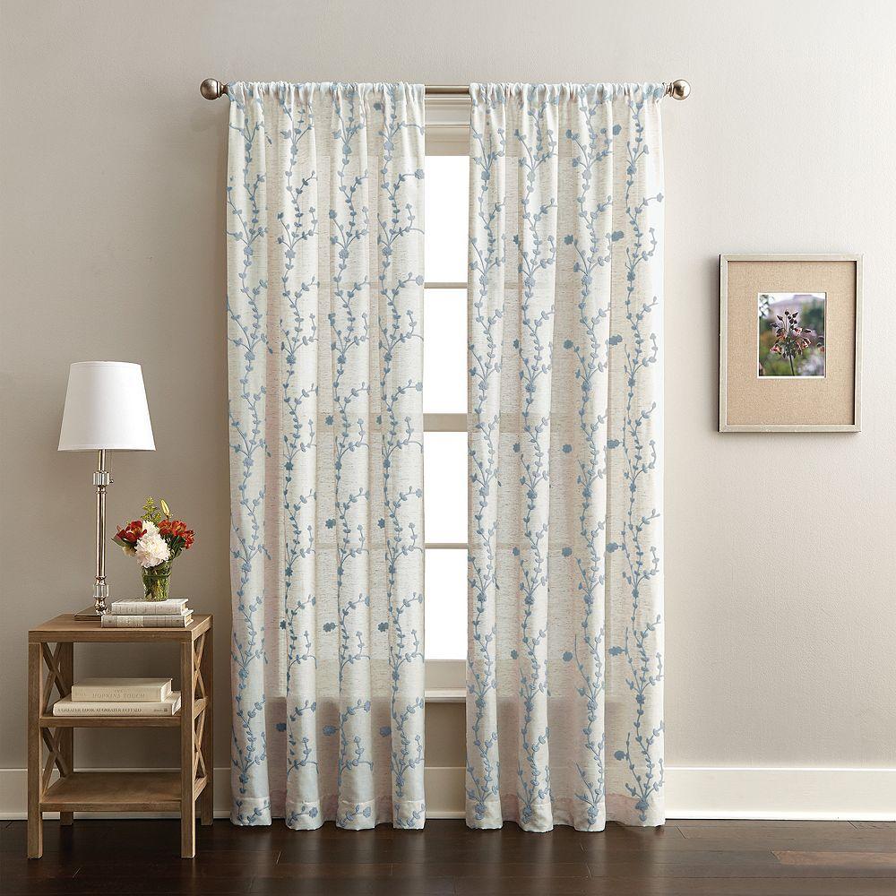 CHF Lynette Poletop Window Curtain