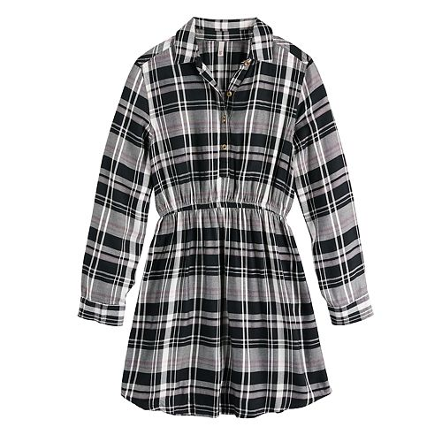 Girls 7-20 & Plus Size SO® Cinched Shirtdress
