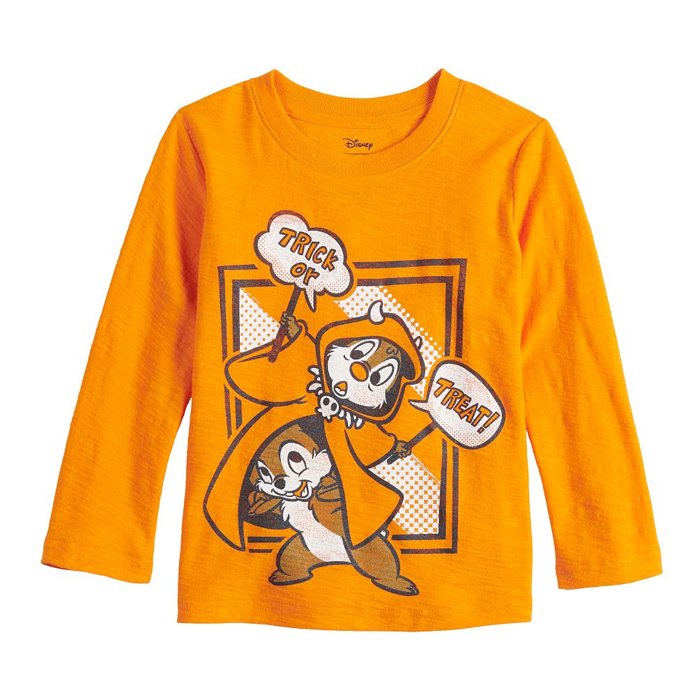 Disney's Halloween Chip & Dale Toddler Boy Long Sleeve Graphic Tee by Jumping Beans®