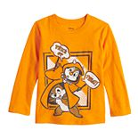Toddler Boy Disney Jumping Beans© Halloween Chip & Dale Long Sleeve Graphic Tee
