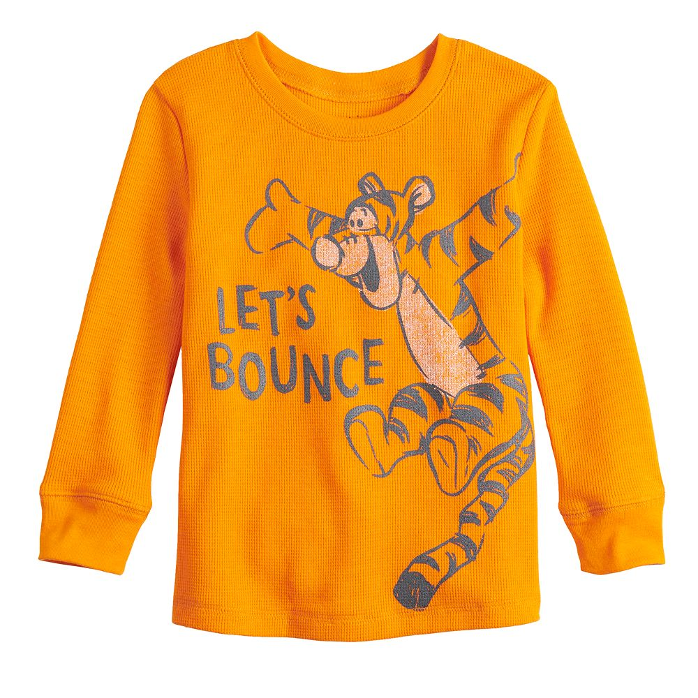 Disney's Winnie the Pooh Toddler Boy Let's Bounce Long Sleeve Graphic Tee by Jumping Beans®
