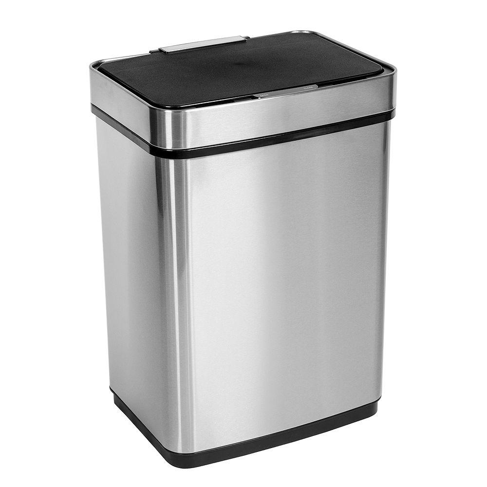 Honey-Can-Do 50L Motion Sensor, Soft Close Trash Can