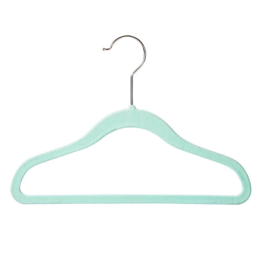 Honey-Can-Do 40-Pack Kids Flock Hangers
