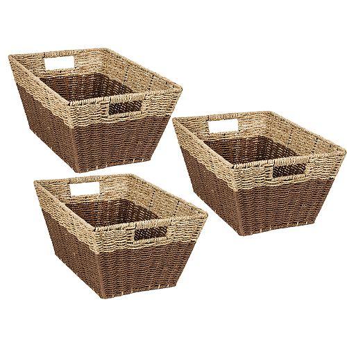 Honey-Can-Do 3-piece Nesting Baskets