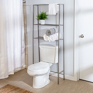 Honey-Can-Do Over-The-Toilet Steel Space Saver