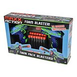 Maxx Action Foam Blaster Twin Pack Pistols