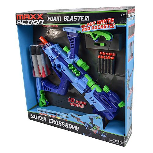 Maxx Action Foam Blaster Crossbow