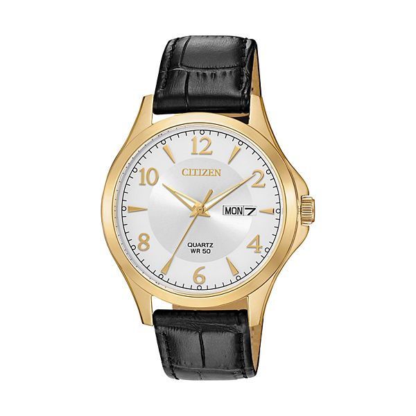 Citizen Men's Leather Watch - BF2003-25A
