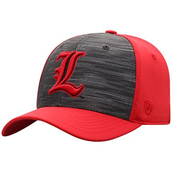 Red NCAA Louisville Cardinals Clean Up Adjustable Hat One Size