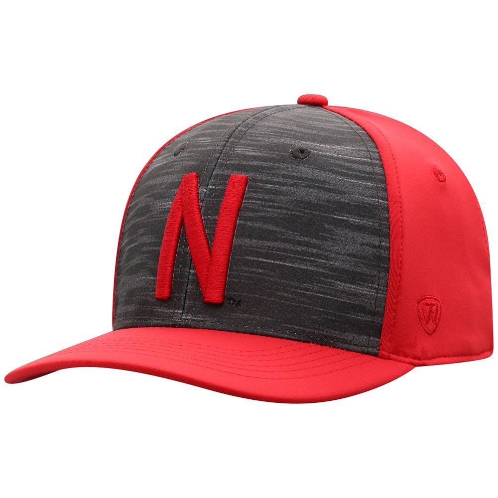 Men's Top of the World NCAA Nebraska Cornhuskers Pepper Hat