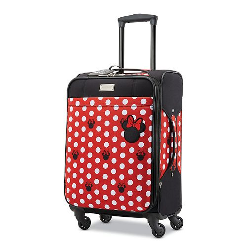American Tourister Minnie Mouse Soft Side Spinner Luggage