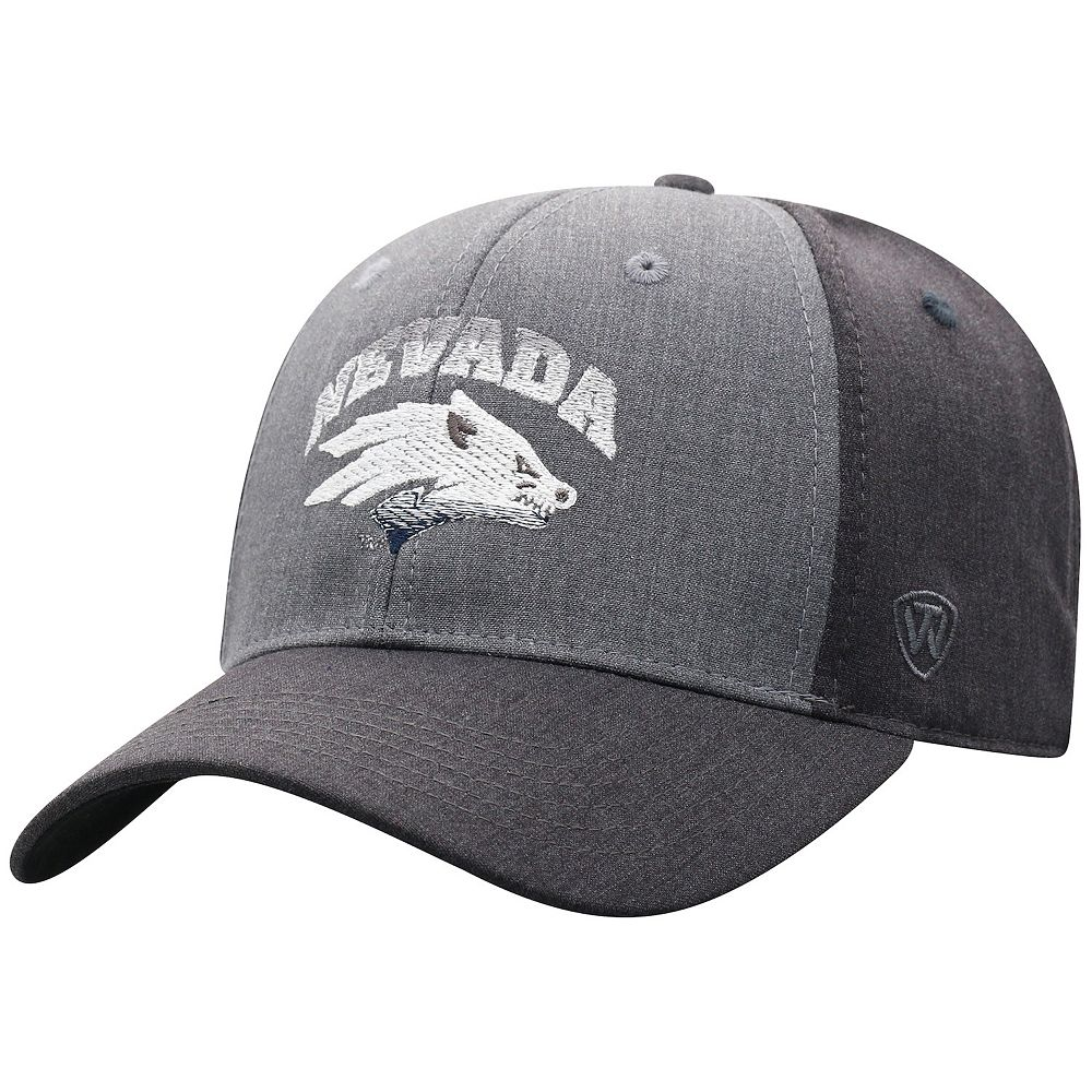 Adult Top of the World Nevada Wolf Pack Power Trip Cap