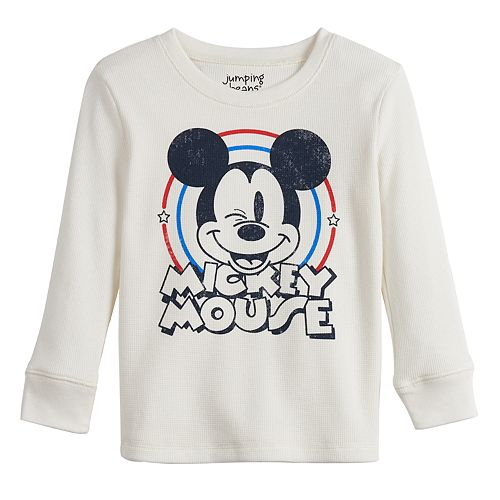 Disney's Mickey Mouse Toddler Boy Long Sleeve Thermal Crewneck Tee by Jumping Beans®