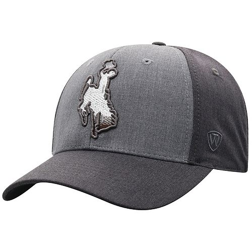 Adult Top of the World Wyoming Cowboys Power Trip Flex-Fit Cap