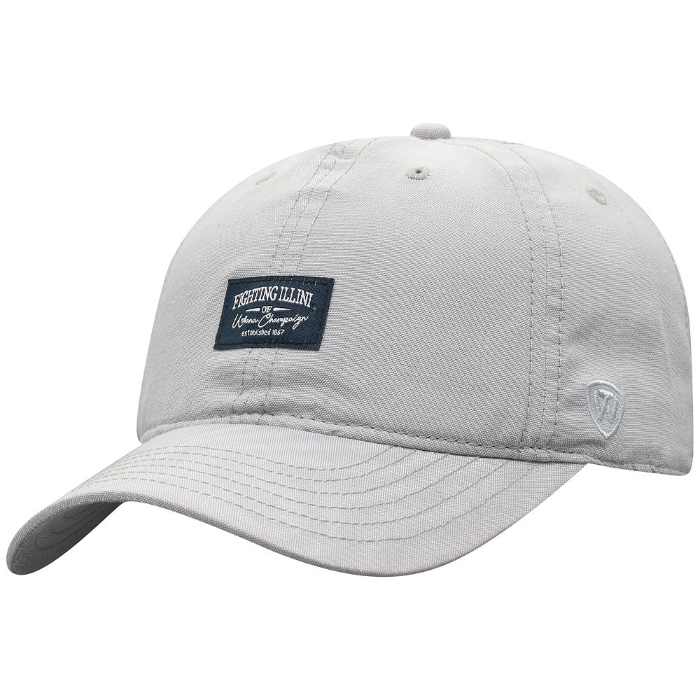 Mens NCAA Top of the World NCAA Fighting Illini Adjustable Hat