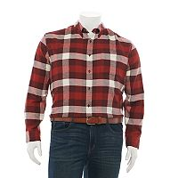 Deals on Croft & Barrow Extra-Soft Flannel Button-Down Shirt Mens