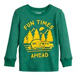 Toddler Boy Jumping Beans® Long-Sleeve Thermal Crewneck Tee