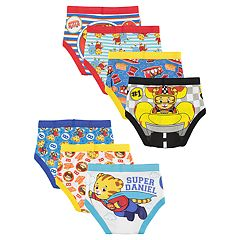 Toddler Boys Daniel Tiger 7-Pack Briefs