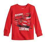 Toddler Boy Disney's Lightning Cars Long-Sleeve Thermal Crewneck Tee By Jumping Beans®