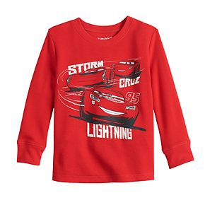 Toddler Boy Disney Lightning Cars Long-Sleeve Thermal Crewneck Tee By Jumping Beans®