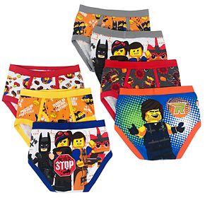 Toddler Boys Lego Movie 7-Pack Briefs