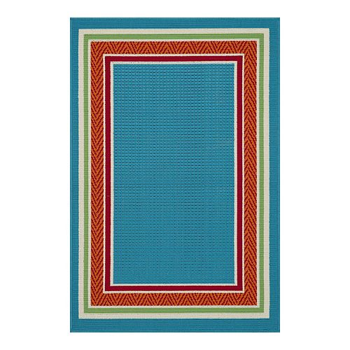 SONOMA Goods for Life® Bright Border Indoor/Outdoor Rug