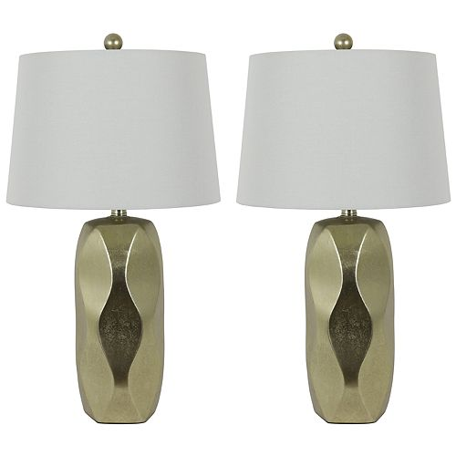 Liam Ceramic Table Lamps 2-Piece Set