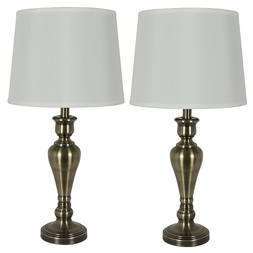 Decor Therapy Marie Table Lamp 2-Piece Set