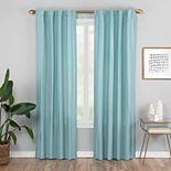 Vue Elements 1-panel Vaughn Semi-Sheer Window Curtain