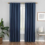 Vue Elements 1-panel Vaughn Semi-Sheer Window Curtain