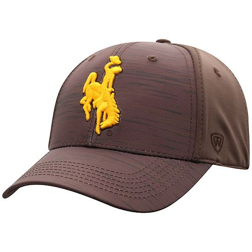 Adult Top of the World Wyoming Cowboys Intrude Flex-Fit Cap