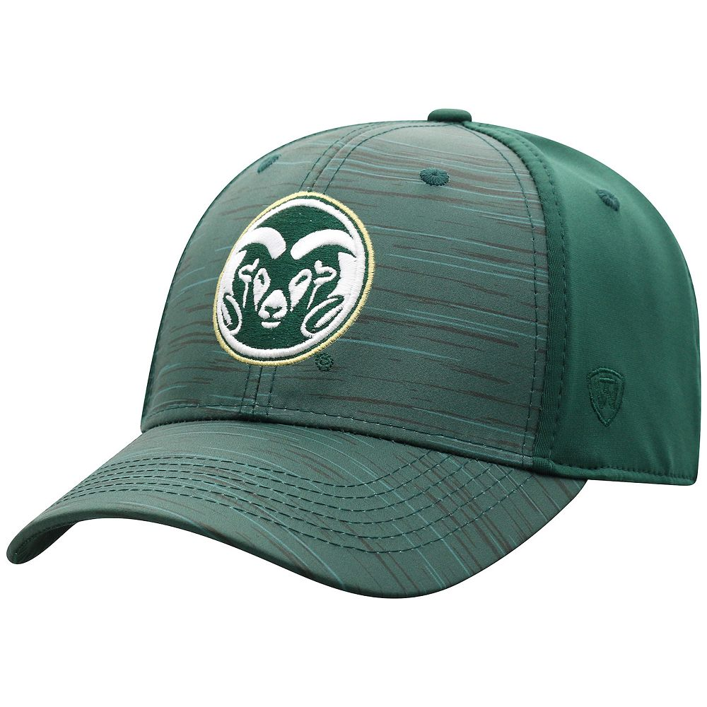 Adult Top of the World Colorado State Rams Intrude Flex-Fit Cap
