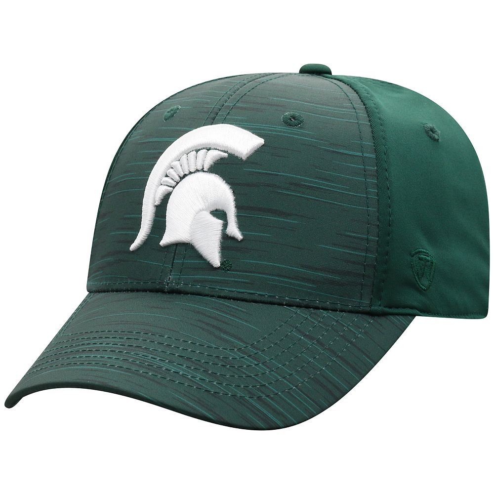 Men's NCAA Michigan State Spartans Top of the World NCAA Intrude Hat
