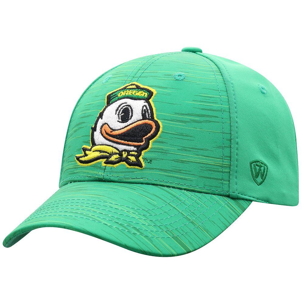 Adult Top of the World Oregon Ducks Intrude Flex-Fit Cap