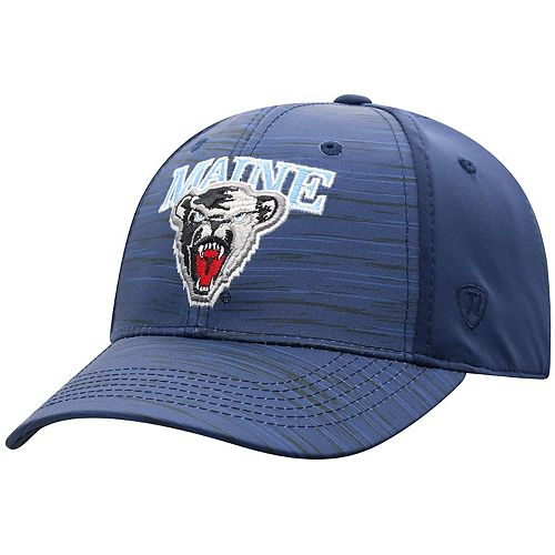 Adult Top of the World Maine Black Bears Intrude Flex-Fit Cap