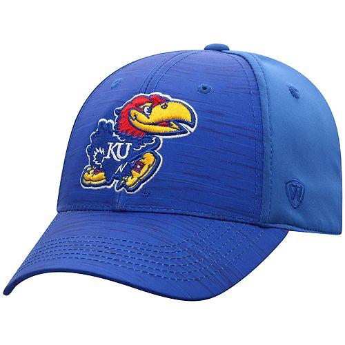 Men's NCAA Kansas Jayhawks Top of the World NCAA Intrude Hat