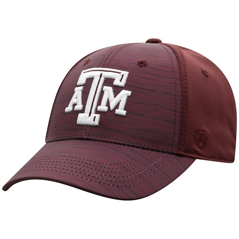 Men's NCAA Texas A&M Aggies Top of the World NCAA Intrude Hat
