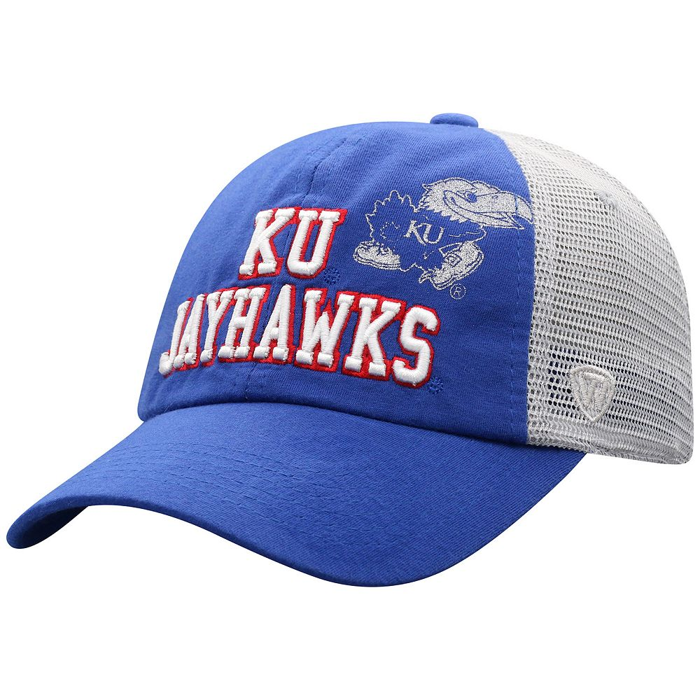 Women's Top of the World Kansas Jayhawks Glitter Cheer Cap