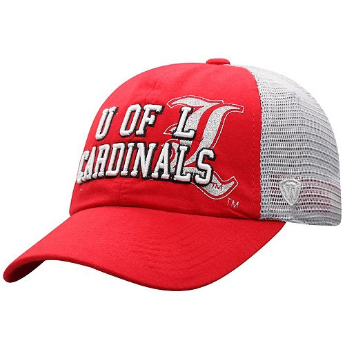 Women's Top of the World Louisville Cardinals Glitter Cheer Cap
