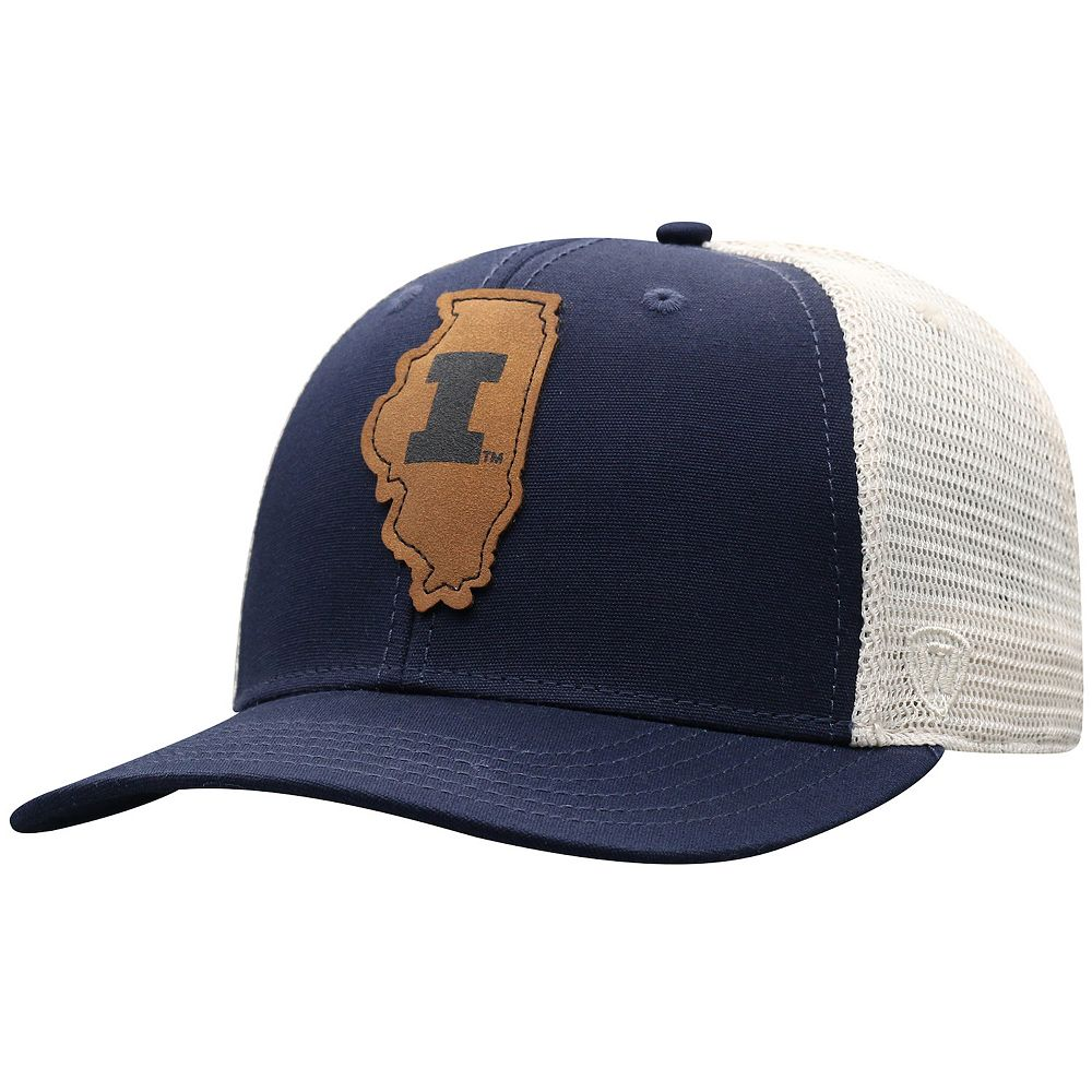 Adult Top of the World Illinois Fighting Illini Precise Hat