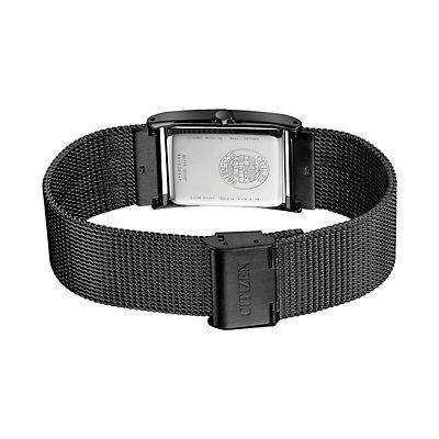 Citizen Eco-Drive Men's Axiom Diamond Accent Mesh Watch - BL6008-53E