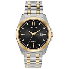ebb18102d Citizen Eco-Drive Men's Corso Diamond Accent Two Tone Watch - BM7107-50E